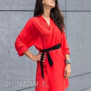 sukienki sukienka - kimono daffodile pomarańczowa, sukienka, kimono, stylizacja