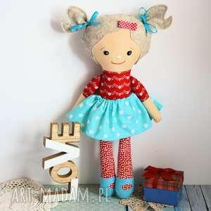lalka rojberka - słodki łobuziak janeczka 50 cm, lalka, szmacianka, urodziny