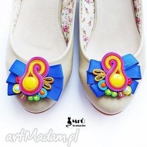 hand-made ozdoby do butów klipsy - bajkowe