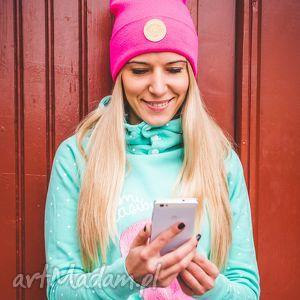 Bunny Pinky Sport, jesień, zima, czapka, beanie