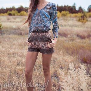 bluzki bluzka dżala, moda ubrania