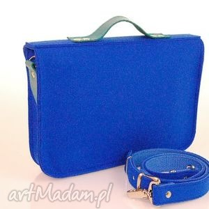 torebki 15 inch laptop macbook pro, pro retina - torba, felt, filc, handmade