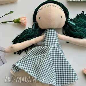 Szyta laleczka szmacianka gotowa do wysyłki lalki anolina