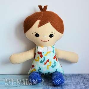 przyjaciel chłopczyka - krzyś 40 cm, lalka, chłopczyk, kumpel