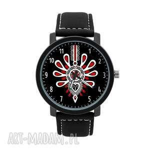 zegarki zegarek męski z grafiką góralska parzenica, góralski, lokalny, ludowy