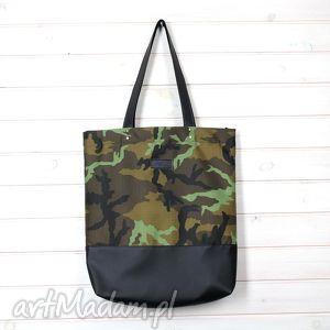 Torba moro shopperka, torba, moro, wojskowa, skórzana, militarna, pojemna