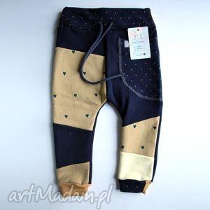 ubranka patch pants- eco dresik dziecięcy granatowy, spodenki, dresowe, prezent