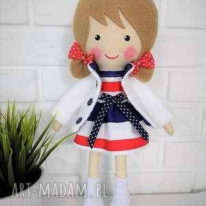 Prezent MALOWANA LALA OLEŃKA, lalka, zabawka, przytulanka, prezent, niespodzianka