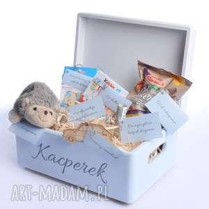 pudełko na pamiątkę urodziny chrzest - pudełko, prezent na urodziny