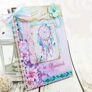 pamiętnik - dream catcher, pamiętnik, notes, łapacz, snów, notatnik, sekretnik