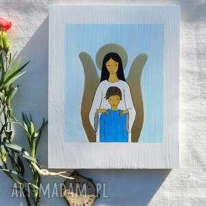 anioł stróż dla chłopca komunia święta 1, stróż, święta, pamiątka