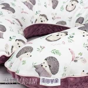 dla dziecka duża poduszka do karmienia jeżyki, poduszka, karmienia, rogal, gniazdo