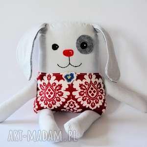 prezenty pod choinkę Piesek Łatek - Asia 39 cm, pies, dziewczynka, urodziny, boże