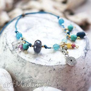 frutti di mare, kamienie, naturalne, jadeit, turkus, kwarc, zawieszka biżuteria