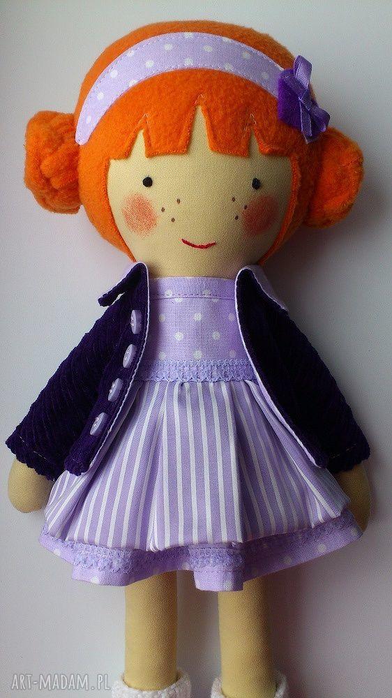 ręcznie zrobione lalki laleczka martynka