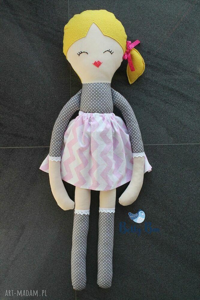 handmade lalki ogromna lalka, 75 centymetrów, szara słodkość, laleczka szmacianka.