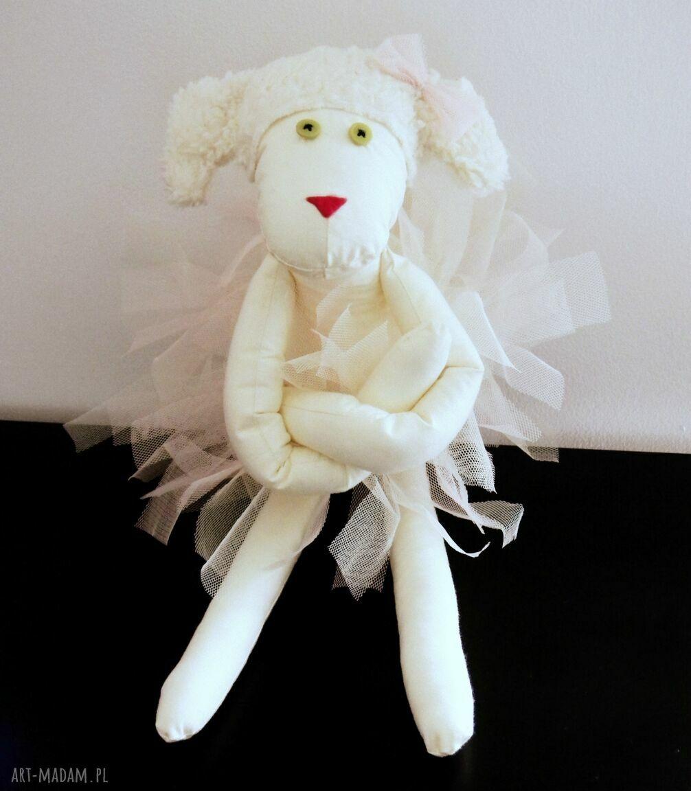 hand made lalki owieczka baletnica
