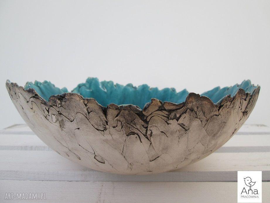 ręcznie wykonane ceramika sardynia miska ceramiczna