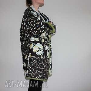 hand-made płaszcze płaszcz patchworkowy długi - waciak
