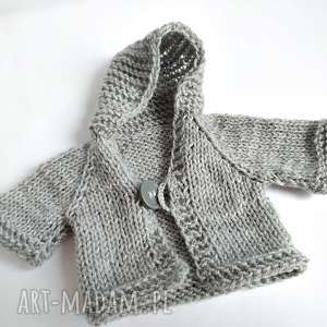 handmade maskotki sweterek dla misia