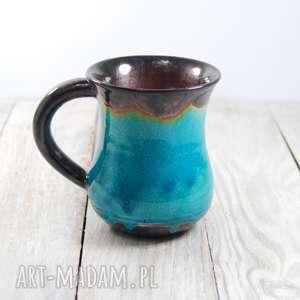 Kubek ceramiczny krakle ceramika mula do kawy, walentynki
