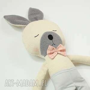 handmade maskotki przytulanka króliczek kubuś