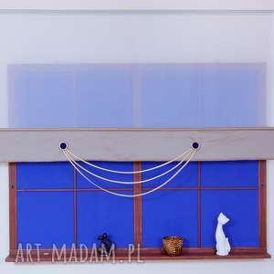 Panel Ekran z kółeczkami Beż, panel, ekran, woal, firana, tafta, lamówka