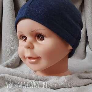czapeczka z dzianiny, cienka czapka, czapka dla chłopca, na wiosnę