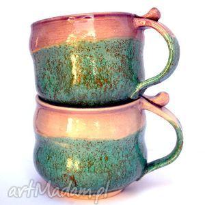 ceramiczne kubki - czar par nr 165 , ceramika, kubek, zestaw, użytkowe, unikatowe