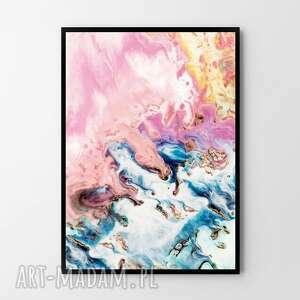 plakat obraz abstrakcja niebo 50x70 cm b2, obraz, abstrakcja, plakat, grafika