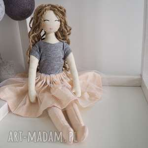 Lalka #210, ekolalka, przytulanka, szmacianka, dziewczynka