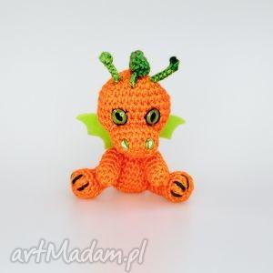 zabawki malutki smoczek pomarańczowy, smok, smoczek, zabawka, prezent, maskotka