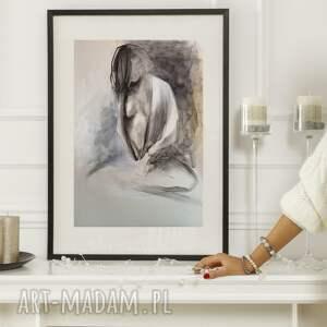 dom szkic kobiety a3, obraz do salonu, grafika, obrazy na sprzedaż, szkice