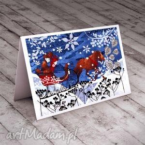 handmade pomysł na prezent kartka na świąteczne życzenia!