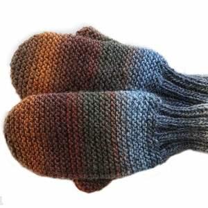 rękawiczki wełniane rękawiczki, mitenki, jednopalczaste, wełniane
