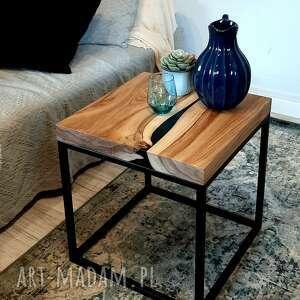 forrest stolik kawowy orzech włoski, kwadratowy
