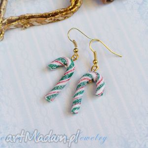 theresa ursulas jewelry świąteczne kolczyki cukierki, kolczyki, świąteczne, święta