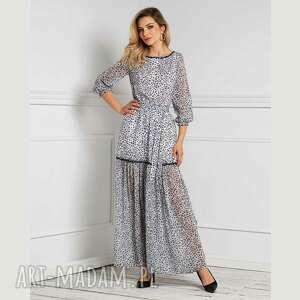 sukienka delia maxi margaretta, maxi, długa