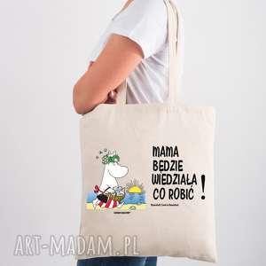 licencjonowana torba muminki dla mamy mama będzie wiedziała co robić, nazakupy