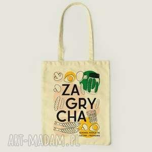 Prezent śmieszna torba na zakupy, Pamiątka PRL, prezent, prl, zagrycha,