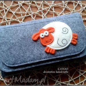 duzy portfel z owieczka, portfel, prezent, filc