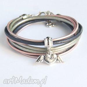 Friend - pomysł na prezent:- pink&silver kaktusia