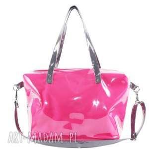 pracownia mana torba podróżna pink - bagaż podręczny do samolotu, duża