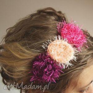 hand-made ozdoby do włosów wianuszek opaska