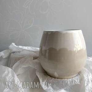 prezent na święta, wazon ceramiczny, wazon, kwiaty, ceramiczny