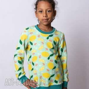bluza dla dziewczynki cytrynki, dziewczynki, dziecka