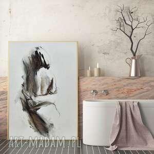 Grafika kobieta 81x57cm dom galeria alina louka duży obraz