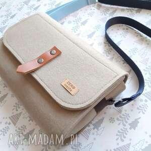 ręcznie zrobione na ramię torebka listonoszka