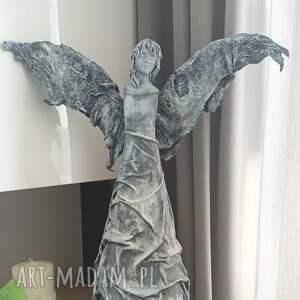 dekoracje anioł szczęścia, stróż, figura anioła, talizman, dekoracja