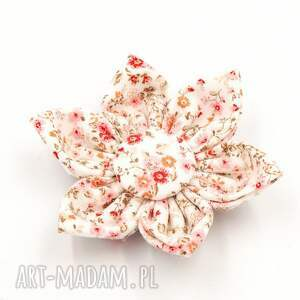 momilio art spinka do włosów kwiatek florence pink, włosów
